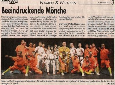 Beeindruckende Mönche