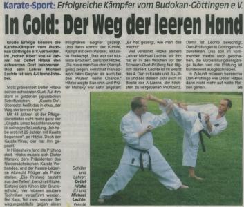In Gold: Der Weg der leeren Hand